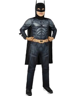 Fato de Batman TDK deluxe para menino - O Cavaleiro das Trevas