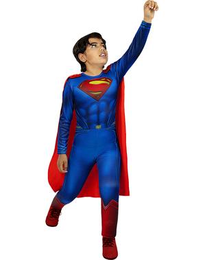 Fato de Super-Homem para meninos - A Liga da Justiça