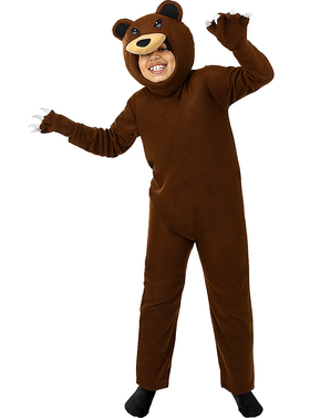 Grizzly Bear Costume for Kids