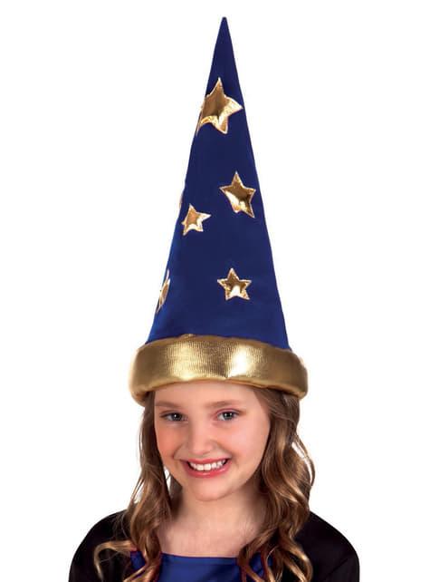 Chapeau magicien de conte enfant