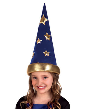 Gorro de mago dos contos infantil