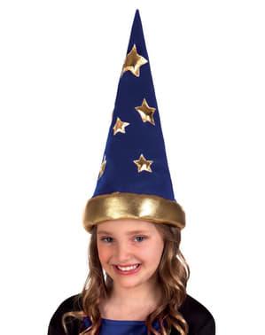 Hoed van de magiër uit het verhaal voor kinderen