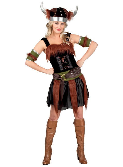 Déguisement viking deluxe femme