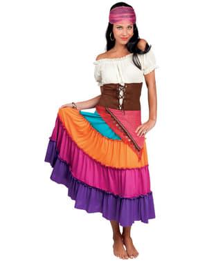 Tarot sigøyner kostyme til dame