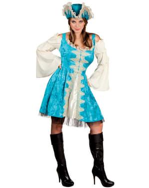 Costum de corsară a mărilor deluxe pentru femeie