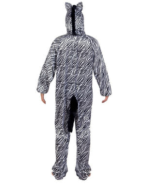 Costume da zebra di peluche per bambino