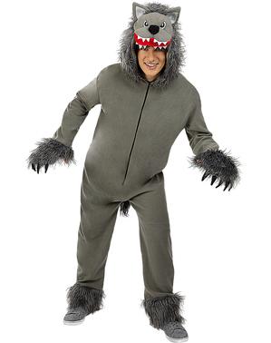 Disfraz de Lobo gris