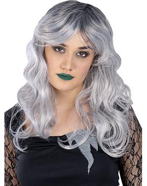 Parrucca di sposa zombie