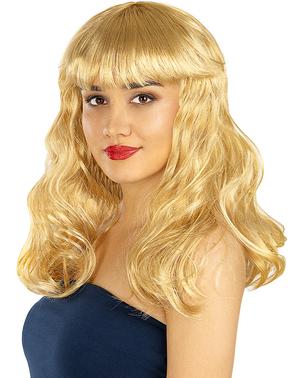 Перука блондинки з каре