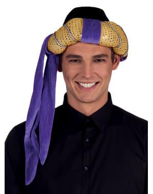 Turbante de árabe roxo para homem