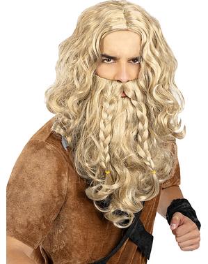 Wikinger Perücke und Bart