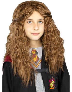 Perruque Hermione Granger pour fille - Harry Potter
