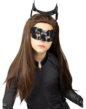 Peluca de Catwoman para niña