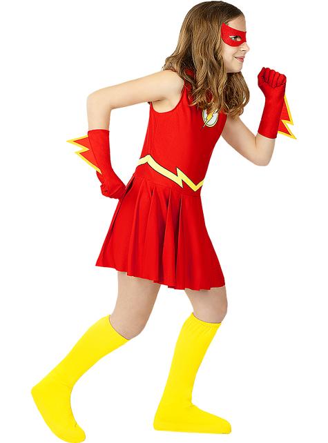 Flash Kostüm für Mädchen
