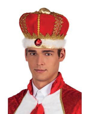 Corona real para adulto