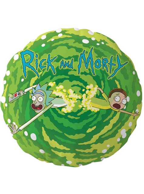 Rick & Morty Round Cushion