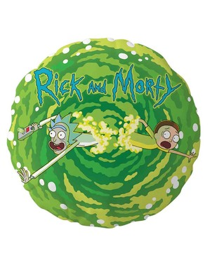 Coussin Rick & Morty rond