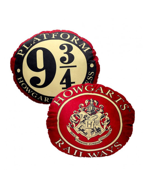 Almofada Harry Potter Plataforma 9 3/24 - Harry Potter
