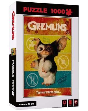 Puzzle Gizmo - Gremliny Rozrabiają