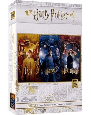 Harry Potter, Hermine und Ron Puzzle - Harry Potter