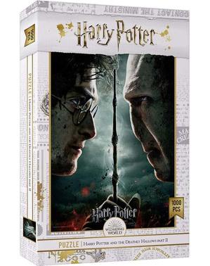 Harry Potter Vs Voldemort Puslespil - Harry Potter