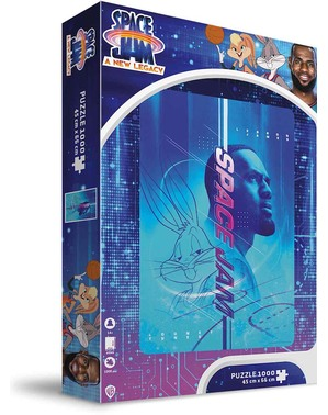 Space Jam Lebron James & Bugs Bunny Puslespil - Looney Tunes