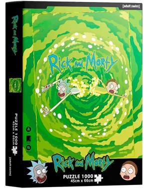Rick og Morty Puslespill: Portal