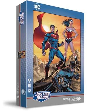Puzzle Batman, Superman y Wonder Woman - La Liga de la Justicia
