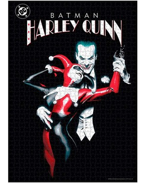 Joker & Harley Quinn Puslespil - DC Comics