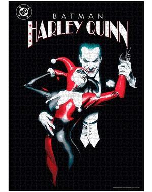 Joker & Harley Quinn Puslespill - DC Comics