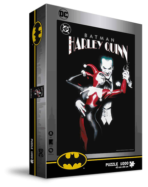 Joker & Harley Quinn Puzzel - DC Comics