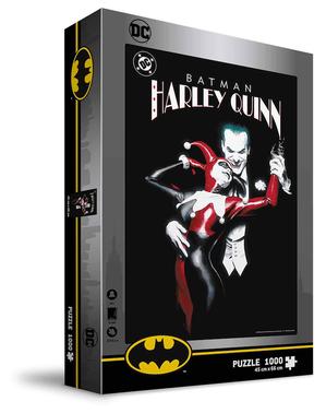 Joker & Harley Quinn Puzzle - DC Comics