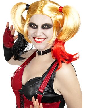 Peruca de Harley Quinn Arkham City