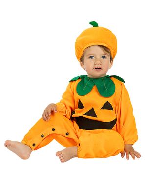 Pompoen kostuum voor baby's