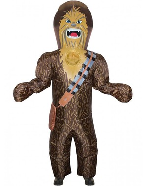 Inflatable Chewbacca Costume for Adults - Star Wars