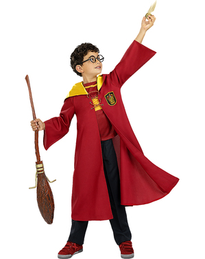 Costum Quidditch Gryffindor pentru copii - Harry Potter