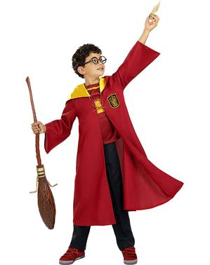Kostým Famfrpál Nebelvír pro děti - Harry Potter