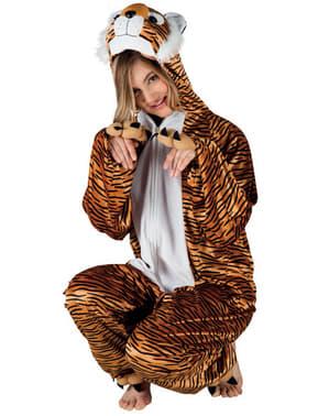 Adult's Stuffed Tiger Costume