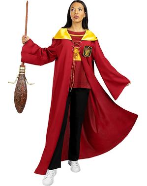 Gryffindor Quidditch Kostüm für Erwachsene - Harry Potter