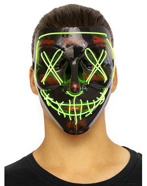 LED Halloween Maske