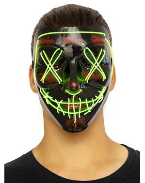 """Светеща маска от """"Чистката"""""""