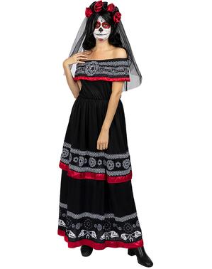 Catrina kostyme til dame plusstørrelse