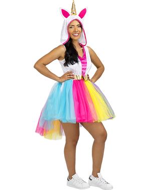 Unicorn Kostyme Plusstørrelse