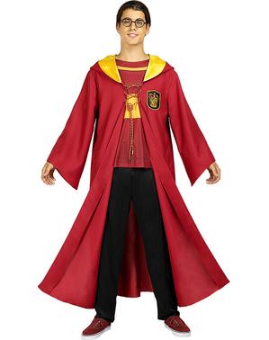 Gryffindor Quidditch Maskeraddräkt för vuxen - Harry Potter