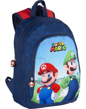 Mochila de Super Mario e Luigi para meninos - Super Mario Bros
