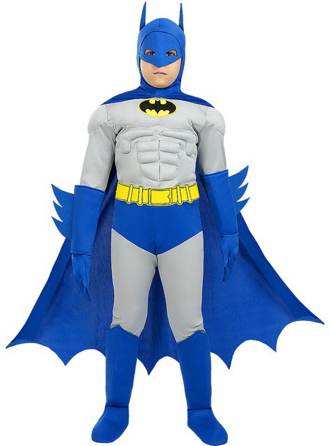 Disfraz de Batman The Brave and the Bold deluxe para niño