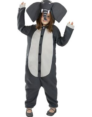 Elefanten Onesie Kostüm für Kinder