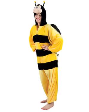 Costum de albină de pluș pentru adult