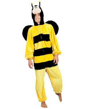 Disfraz de abeja de peluche para adulto