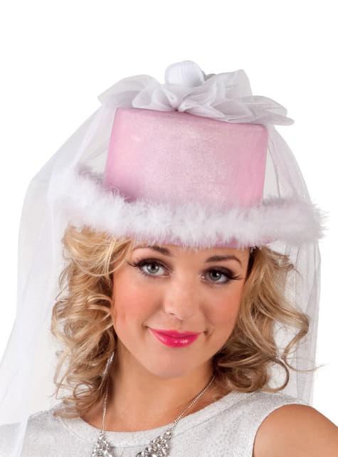 Sombrero de novia original para mujer
